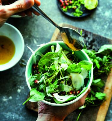 Menu Végétarien Antioxydants