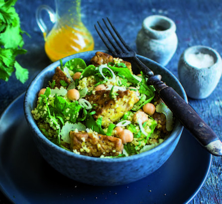 Menu Végétarien : Pâtes au brie et aux épinards