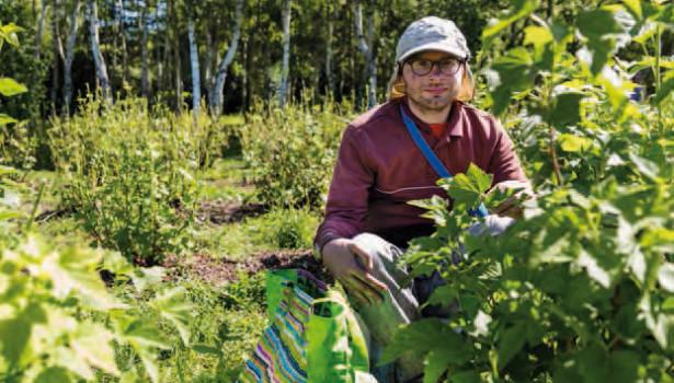 Handicap, les bienfaits <br>du travail au vert</br>