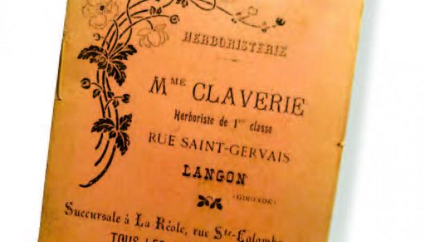 Lithographie de 1828