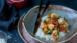 Ratatouille et tofu