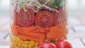 Salade grecque aux pois chiches