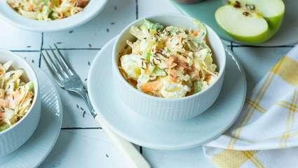 Salade de légumes au raifort