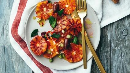 Salade d'oranges de sicile