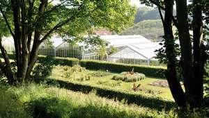 Serre du jardin suspendu du Havre