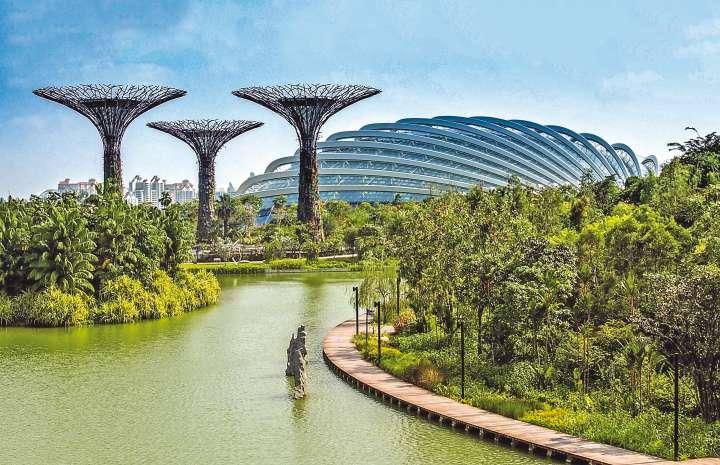 Singapour marie confort urbain et pleine nature