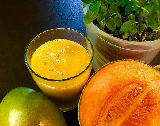 Smoothie au melon