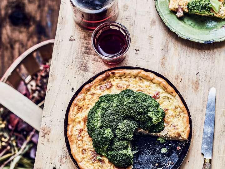 tarte aux brocolis
