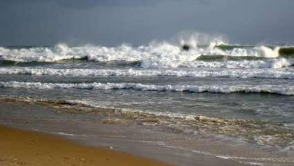 Les plages couvrent un tiers de nos côtes.