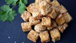 Tofu au sésame