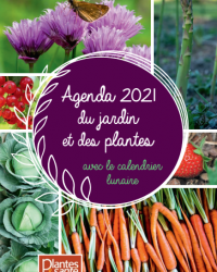 L'agenda du jardin et des plantes 2021 : vivez au rythme de la nature !