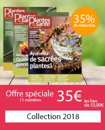 Collection 2018 - 11 numéros - Offre spéciale