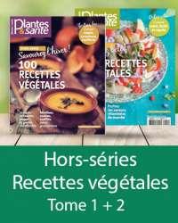 Hors-séries 200 recettes végétales Tomes 1 et 2
