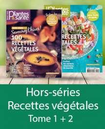 Hors-séries 100 recettes végétales Eté + Hiver Tome I + II