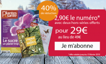 Offre spéciale Soldes : Abonnement 10 numéros soit 2,90 € par mois + 2 hors-séries gratuits